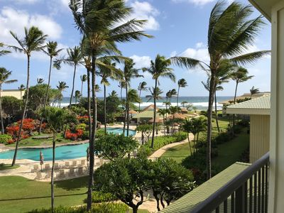 Photo for Deluxe Room w/King Bd, Ocean/Pool views, Everything in Room is new as of 2018.