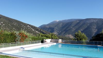 Photo for Bastidon near the Ventoux in common swimming pool holiday village