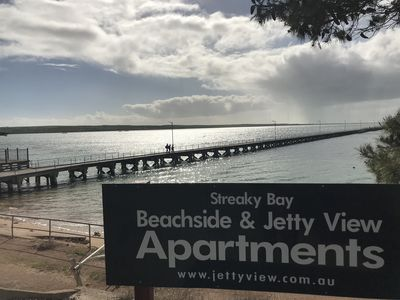 Photo for Beachside & Jetty View Apartments (Sea Eagles Nest)
