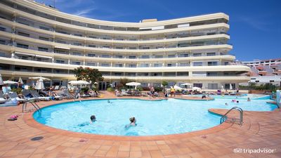 Photo for Beautiful 3 bedroom apartment with communal heated pool.