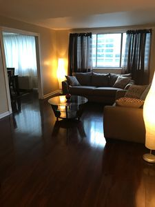 Photo for Spacious Downtown Atlanta Condo with free parking space, WiFi and no extra fees.
