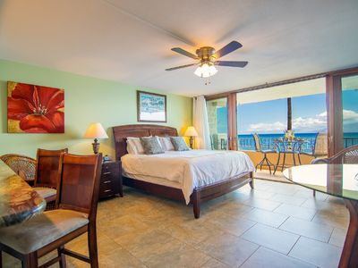Photo for SPECTACULAR OCEANFRONT VIEWS, PLUS A BEAUTIFULLY UPGRADED STUDIO!