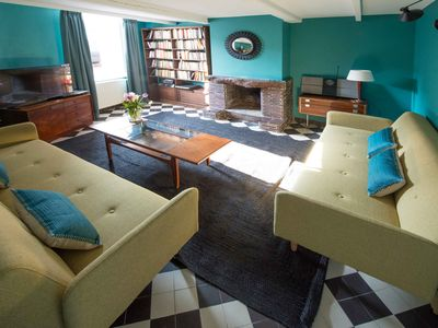 Photo for Pretty town house at 1500 m from the sea