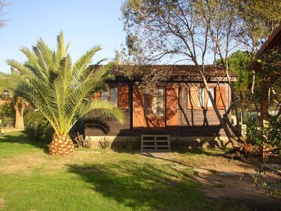 Photo for bungalow in Cargese (pero beach)