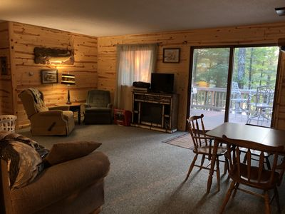 Photo for 2BR Cabin Vacation Rental in Minocqua, Wisconsin