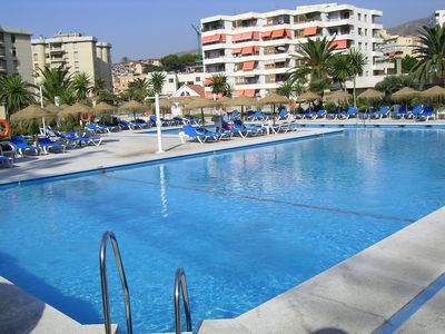 Photo for Torremolinos Nogalera rFantastic 3 bedrooms Apartment WIFI  SAT TV 2 Baths 6 Pax