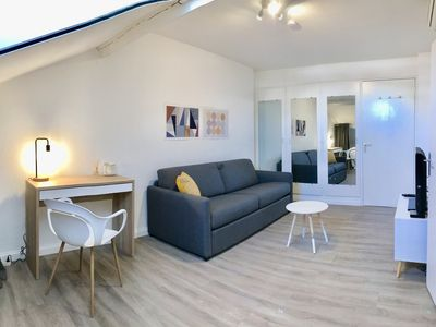 Photo for Apartment under the roofs close to Jean Medecin, Main Street of Nice
