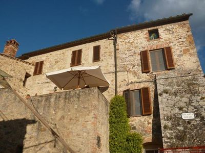 Photo for Holiday apartment Monticiano for 4 - 5 persons with 2 bedrooms - Holiday house