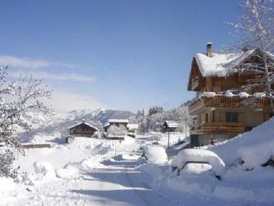 Photo for Pleasant apartment for 10 to 12 people, near slopes, shops and calm