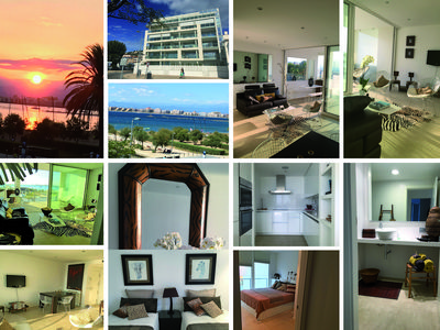 Photo for UNIQUE in Rosas Standing, 1st line, magical sea view, terrace, garage, WiFi