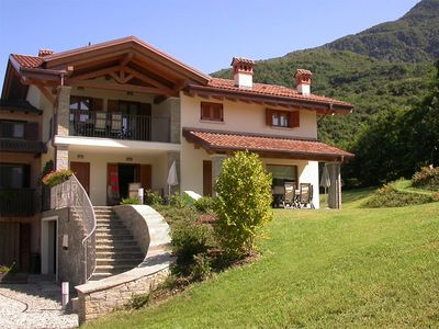 Photo for » Spacious rural oasis with wonderful lake view  » with pool  »  in country house style with designer bathrooms