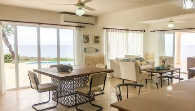 Photo for Enjoy relaxing sea-views in this quiet oceanfront condo, ideal for seniors!