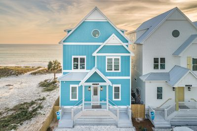 Welcome to High Tide.  Beautiful 7 bedroom beach front home with a private pool.