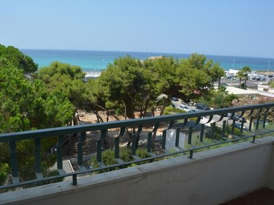 Photo for GALLIPOLI LIDO SAN GIOVANNI - SEA VIEW - Offer 14-22 July