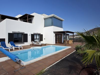 Photo for Villa In Playa Blanca With Fabulous Sea Views
