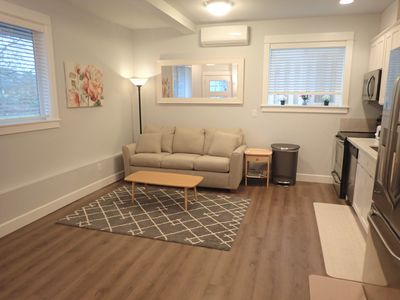 Photo for Casa Blanca: New 1 Bedroom Apartment in Quiet University Park Neighborhood