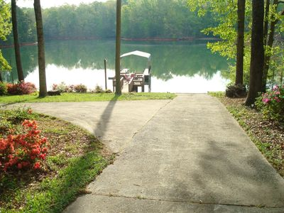 Photo for Lake Keowee Lakefront Home W/ Private Boat Ramp-Great Rates