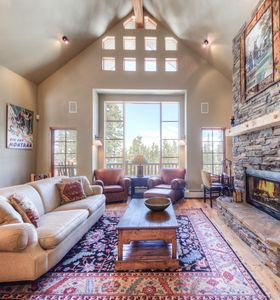 Photo for Gorgeous mountain home with direct ski-in ski-out access, private deck, and hot tub