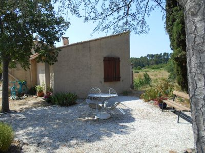 Photo for Peaceful rural location surrounded by vines and olives - Artists haven.