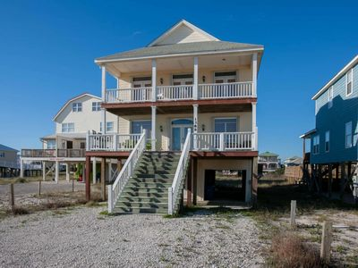 Photo for Private home just across the street from beach | BBQ grill, Wifi, Jacuzzi tub | Free Activities