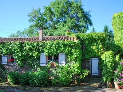 Photo for Quaint Cottage in Teillet with Valley View