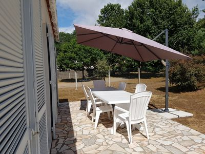 Photo for house 2 key holidays, on fenced 900m2, set back from roadside, quiet.