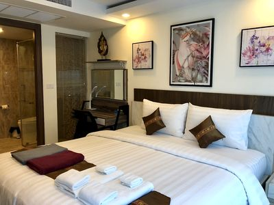 Photo for Luxury Business Suite Garden View C2 in Grand Avenue by Pattaya City Estates.