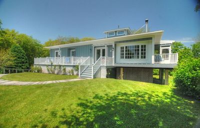 Photo for Surrounded by magnificent salt water views of Green Hill Pond