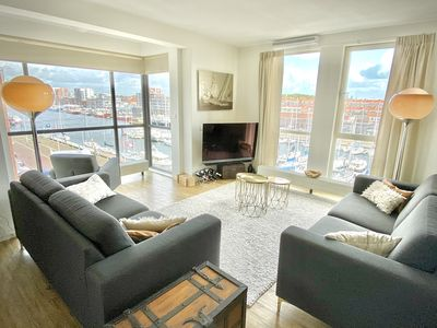 New Stylish apartment with fantastic sea and harbour view, sailing possible