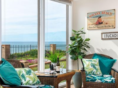 Photo for Ocean 11:Oceanfront view, pool, hot tub and private beach access