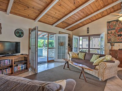 Photo for Cozy Home w/Lanai, 1Mi to Pahoehoe Beach Park