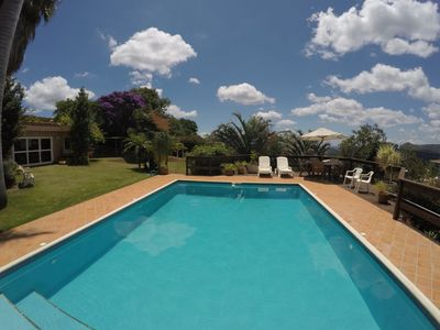 Photo for 5 BEDROOM HOUSE (4 SUITES) LUXURY CONDOMINIUM POOL, VOLEI COURT