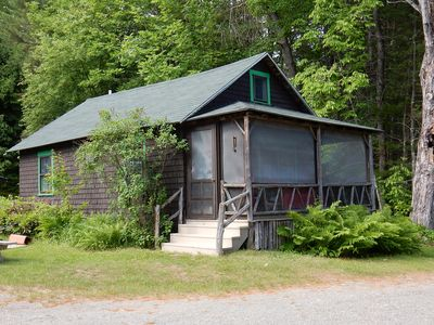 Photo for Comfortable Family Cottage on Clearwater Lake, Industry, ME