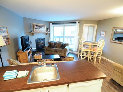 Photo for A Mountain in Time 2 BR 1 Bath Condo - sleeps up to 4