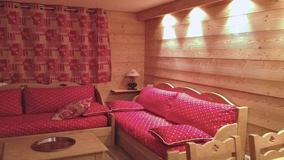 Photo for Les Fontaines Blanches, resort center, for 5 people, Avoriaz