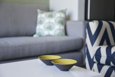Stylish décor throughout