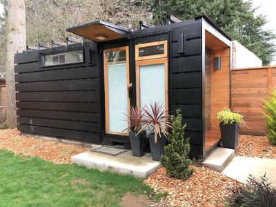 Photo for Modern Dwelling Shipping Container Studio