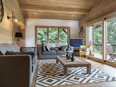 Photo for chalet Megève Mont d'Arbois, 8 people 3 bedrooms and 3 bathrooms