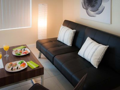 Photo for Superior One-Bedroom Apartment W/1 Bedroom & 1 Bathroom.Your Home Away From Home