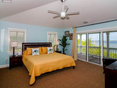 Photo for Waterfront home w/ private pool, Jacuzzi, balcony w/ sweeping ocean views