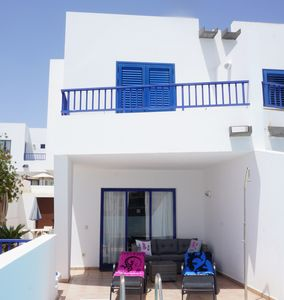 Photo for Marina Rubicon - Villa 2 Bedroom - Minutes to the Sea Front, Pool, WIFI.