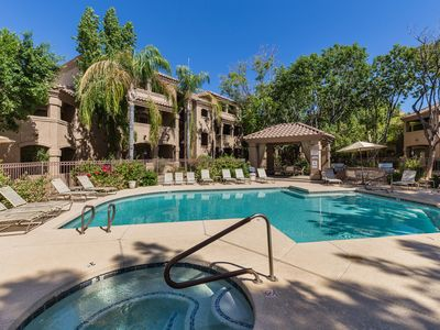 Photo for Poolside Condo - Prime North Scottsdale - Walk To Shops, Dining And Trails