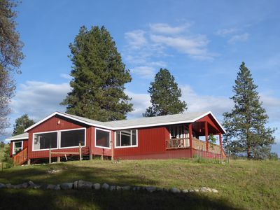 Photo for Beautiful ranch and new house in Okanogan Highlands