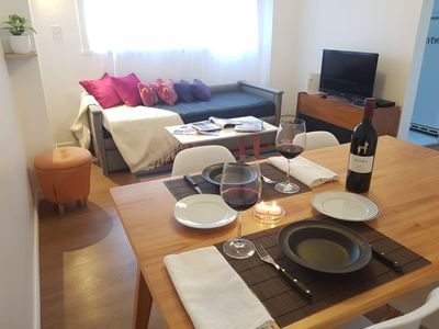 Photo for Full apartment, cozy and bright, exc location, 2 rooms! Very comfortable, 6 pax