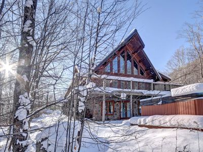 Photo for Chalet Omaha 4 bedroom 10 people Mont Tremblant Region