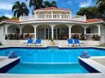 Photo for Beautiful 6 Bedroom Villa with Butler Service! All Inclusive!