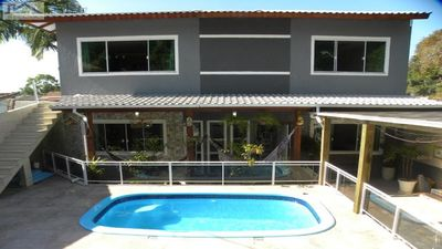 Photo for Casa Praia de Lagoinha, North of the island, heated swimming pool and jacuzzi, for family