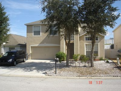 Photo for 218 sunset view dr --Deluxe 4 Bedroom, 3 Bathroom Pool Home 10 Minutes to Disney