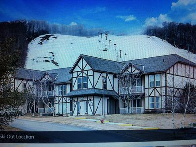 Photo for One bedroom villa at the foot of a Boyne Mountain February 2 - 9, 2019.