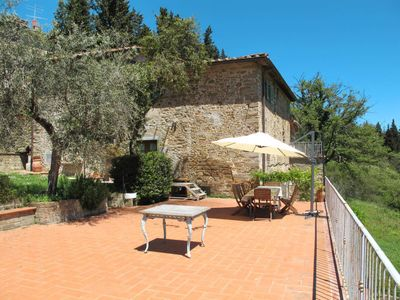 Photo for Apartment Fabbroni (SPC166) in San Polo in Chianti - 7 persons, 4 bedrooms